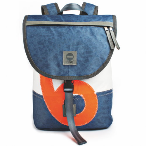 Landgang mini weiss blau orange